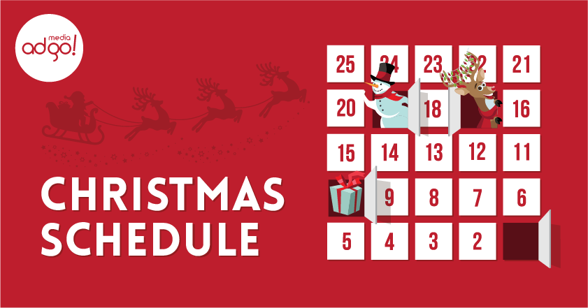 Christmas Schedule 2020 Christmas Schedule for 2020   Media ADgo: Digital Marketing Agency
